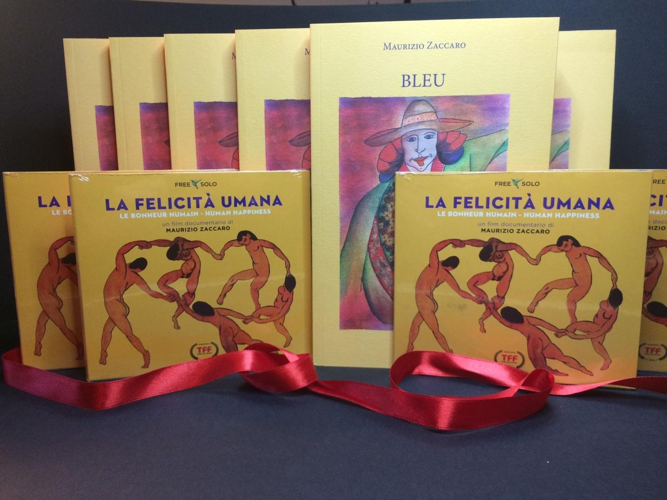 LA FELICITA' UMANA + BLEU. OFFERTA 28 EURO (spedizione compresa in italia)